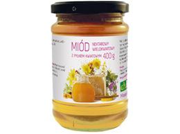 Miód z pyłkiem kwiatowym 400 g