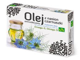 Zimnotłoczony olej z nasion czarnuszki  60 kapsułek