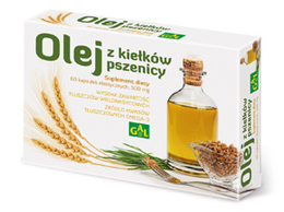 Olej z kiełków pszenicy 60 kapsułek