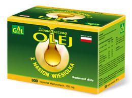 Zimnotłoczony olej z nasion wiesiołka 700 mg 300 kaps.