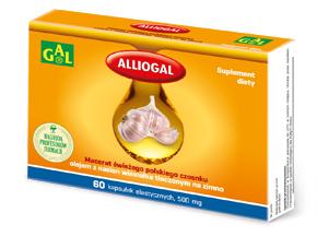 Alliogal 500 mg 60 kaps.