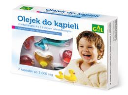 Olejek do kąpieli dla dzieci 3000 mg 7 kaps.