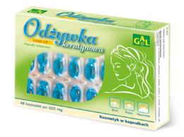Odżywka keratynowa 520 mg 48 kaps.