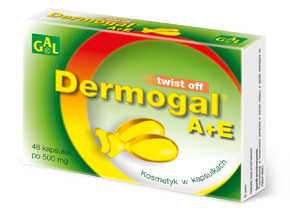Dermogal A+E 500 mg 48 kaps.
