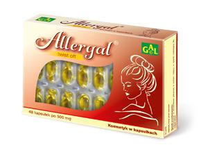 Allergal 520 mg 48 kaps.