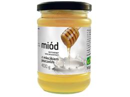Miód z mleczkiem pszczelim 400 g