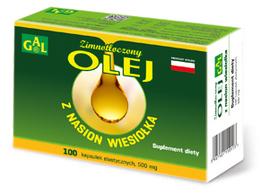 Zimnotłoczony olej z nasion wiesiołka 500 mg 100 kaps.