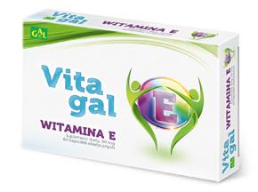Vitagal Witamina E 60 kaps.