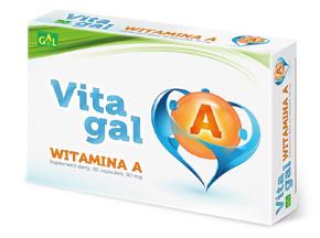 Vitagal Witamina A 60 kaps.
