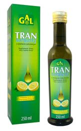 Tran norweski o aromacie cytrynowym 250 ml