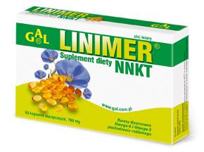 Linimer NNKT 700 mg 60 kaps.
