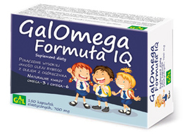 Galomega Formuła IQ 700 mg 150 kaps.