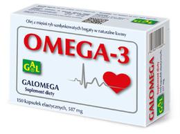Galomega 517 mg 150 kaps.