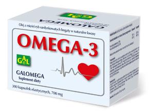 Galomega 700 mg 300 kaps.