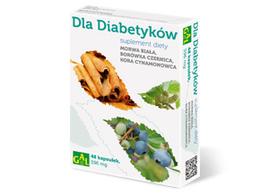 Dla diabetyków 48 kaps.