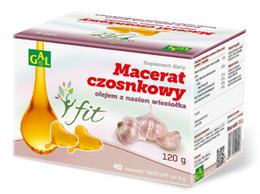 Macerat czosnkowy olejem z nasion wiesiołka tłoczony na zimno  40 kapsułek